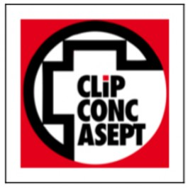 CLIP CONC ASEPT
