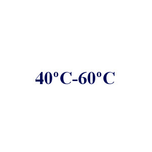 40ºC - 60 °C