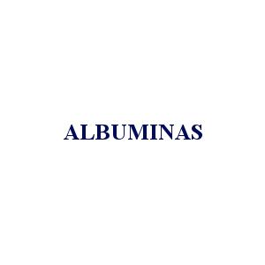 ALBUMINAS