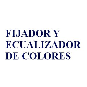 FIJADOR Y ECUALIZADOR DE COLORANTES