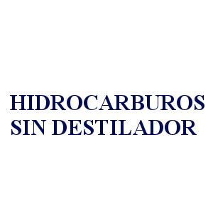 HIDROCARBUROS SIN DESTILADOR