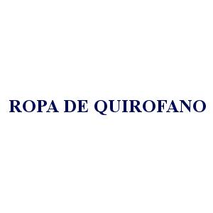ROPA DE QUIRÓFANO