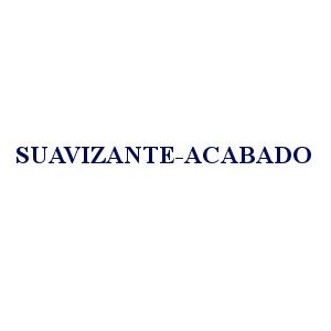 SUAVIZANTE / ACABADO