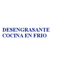 DESENGRASANTE COCINA EN FRIO