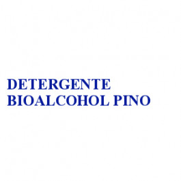DETERGENTE BIOALCOHOL PINO