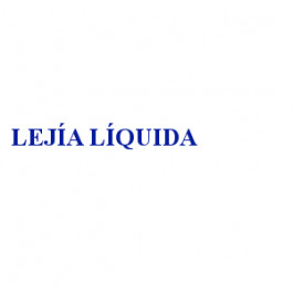 LEJÍA LÍQUIDA